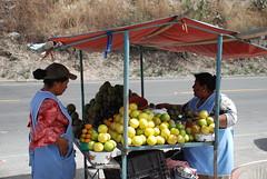 fruit, Ecuador (verbrugge) Tags: road people fruit ecuador nikon women locals market traditional tradition fruitmarket nikond40x