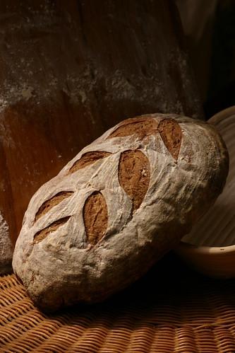 Pan con cerveza y cebada