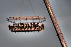 Board Meeting (nosha) Tags: blue sky sculpture art beauty copenhagen table denmark nikon suits crane air apocalypse meeting august business midair pm scandinavia 2008 boardmeeting businessmen kobenhavn executives d300 18200mm nosha august2008 scandinavia2008 apocalypsedecadence
