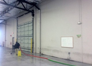 Large Commercial Warehouse Water Extraction