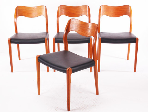 danish modern furniture teak dining chairs vintagelooks.com