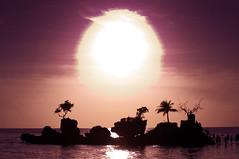 Purple Haze. (lordmonark) Tags: sunset beach sand boracay teampilipinas riojones riojonesphotography
