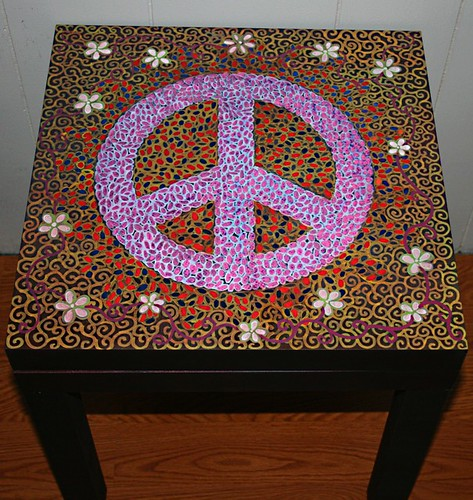 Peacefest Table3. by Rick Cheadle Art and Designs