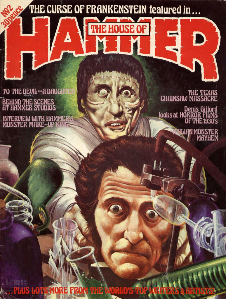 House Of Hammer Magazine - Issue 2 (1976)