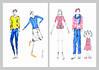 Desenho Moda-Hidrocor (Malú Rosa) Tags: moda desenho hidrocor