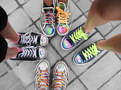 DSC02847_1 (Marie JA) Tags: birthday shoes colorful neon converse bestfriends