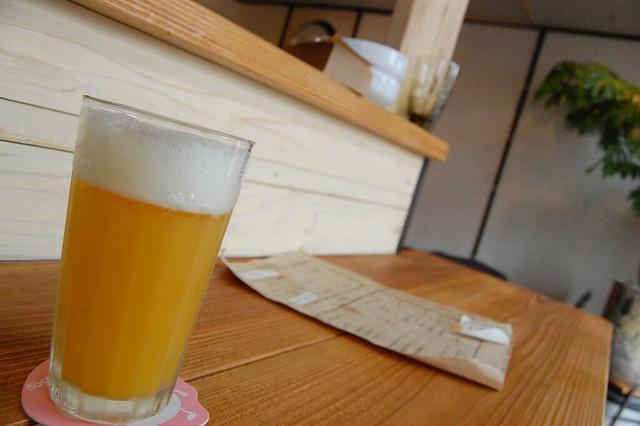 鹿沼市役所付近、パナマのオレンジパナシェがたいへん飲みやすかった! #kanuma