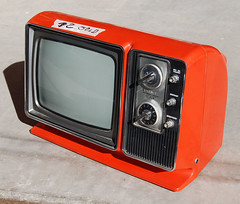 Zenith Television Set, 1977 (by Roadsidepictures)