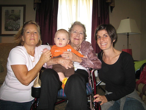 Great Grandma Jane + Milo
