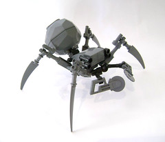 Pain-bot (DARKspawn) Tags: insect robot spider pain lego space mecha bot