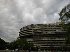 Watergate and Clouds
