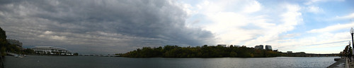 Retreating Clouds Over the Potomac