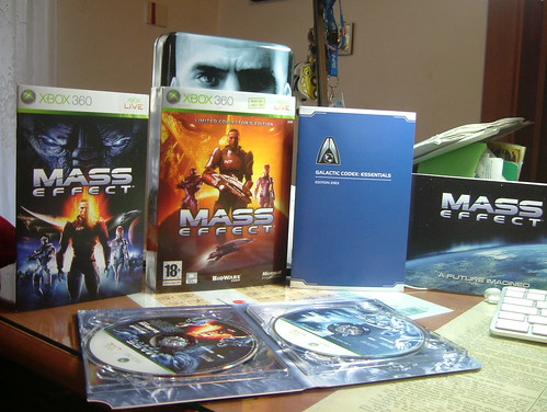 Mass Effect Limited Collector's Edition Unboxed