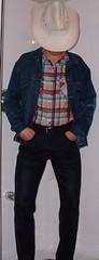 cowboy08 (splishsplash1123) Tags: cowboy jean denim jeanjacket wam westernwear wetdenim