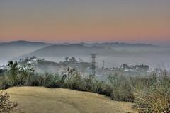 Runyon Canyon - HDR (McDeez) Tags: fog losangeles hollywood hdr runyoncanyon hdrsingleraw foggysunset