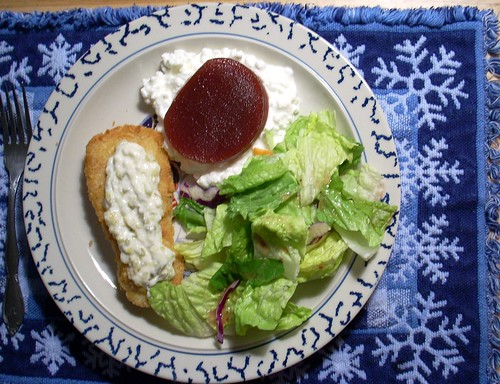Dinner and Art Fish Salad Cranberry