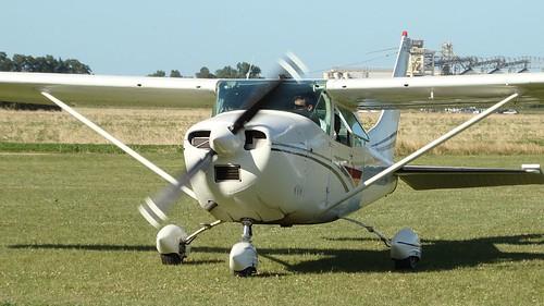 Aeroclub Rosario -  Hélice en movimiento