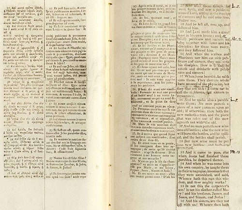 page from the jefferson bible