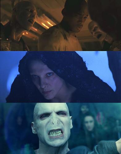 The Current Cinematic Face of Evil - Voledemort, Satan and I am Legend
