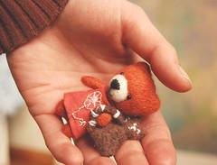Mia (miriana) Tags: bear toy felting