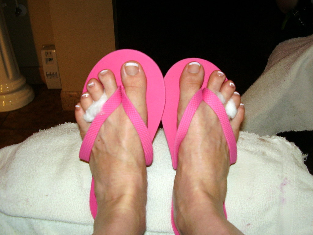 Feet After Pedicure