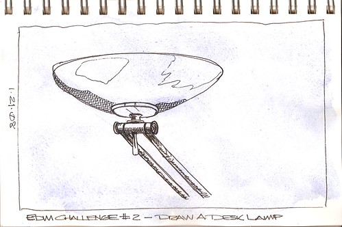 EDM Challenge #2 - Draw a Desk Lamp - 1