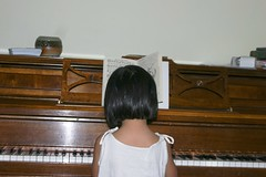 Olivia Playing the Piano