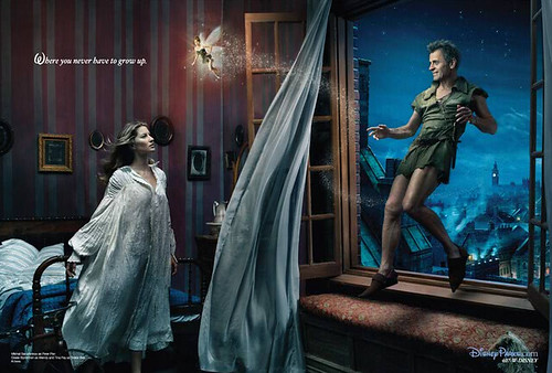Annie Leibovitz's Disney Dream Portrait Series - Peter Pan