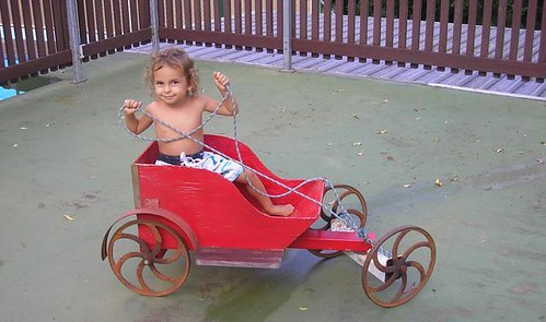Cappi in his gocart