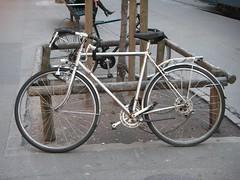 Fahrradhaufen in der Bahnhofstrasse