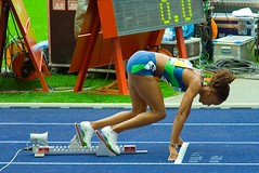 Sanya Richards 400m (az1172) Tags: usa berlin golden 2006 winner richards sanya sieger league trackandfield 400m sportillustrated istaf leichtathletik az1172