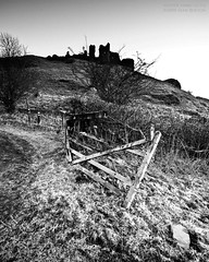 Carreg Cennen(12) (Sean Bolton (no longer active)) Tags: castle history wales carmarthenshire cymru ruin historic fortification fortress blackmountain carregcennen llandeilo cadw dyfed seanbolton superbmasterpiece ffotocymrucouk deheubarth castellfarm