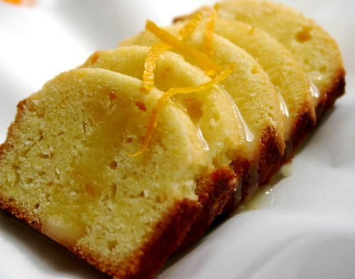 homemade orange cake por photo kitten.