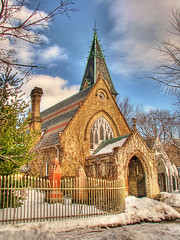 Necropolis Chapel on a February Day (pic_snapper) Tags: toronto ontario canada canon cemetary victorian chapel powershot magical soe hdr cabbagetown s5 3exp shieldofexcellence cans2s anticando llovemypic