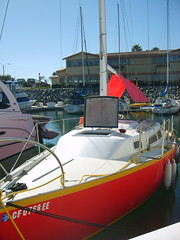 S5005235 (socalmik) Tags: red 1969 up sailboat fix boat ranger 26 gary mull racer oday r26 garymull socalmik