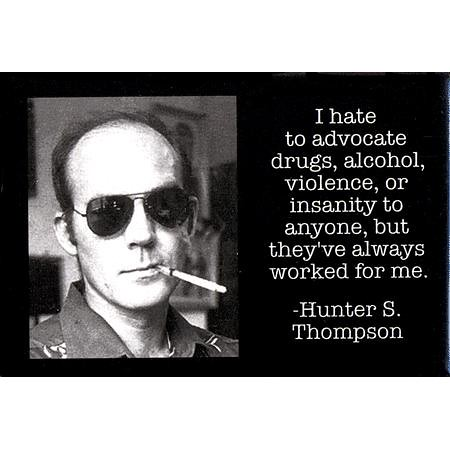 Notes Hunter S Thompson