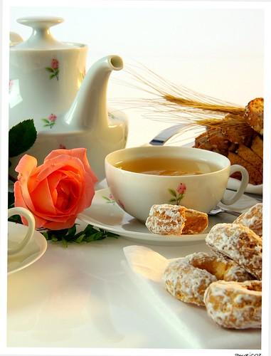 Chá da tarde.