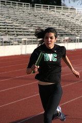 another fast paced Asma picture (jibitri) Tags: dvc tracknfield tf2008