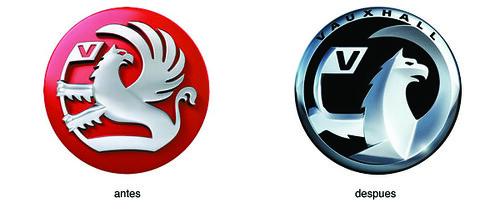 Cambio de logotipo en Vauxhall