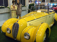 1938 Talbot Lago (Davydutchy) Tags: auto essen classiccar convertible oldtimer veteran 2008 cabrio bentley carshow talbot technoclassica klassiker talbotlago figoni falaschi