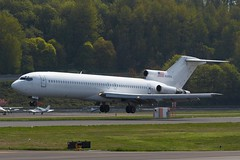 No more Pan Am livery for N342PA (Liembo) Tags: boston maine boeing airways panam 727 bfi 727200 kbfi n342pa