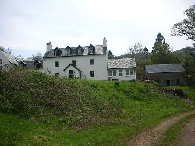 Morvern - Glencripesdale house