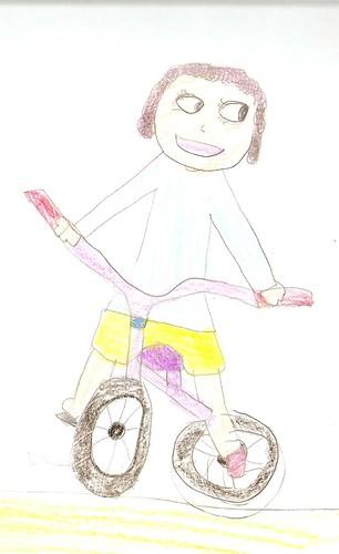 ¿Cómo apredí a montar en bicicleta?