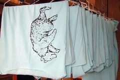 t-dresses hanging