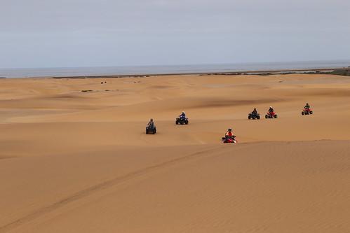 Quad and sand - Swakopmund
