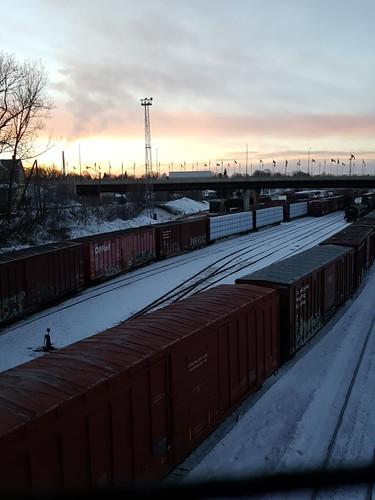 Sudbury Rail Yards