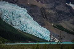 Berg Glacier on Mount Robson (Marshall Winterbach) Tags: naturespotofgold otw glacier woods lake blue lightblue