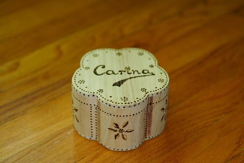 Carina's box