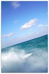Ready, Go! (SaraPc) Tags: sea mexico al nuvole mare blu vacanza massimo onde vado motoscafo spruzzi