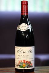 Bernard Metrat Chiroubles 2004 Beaujolais
